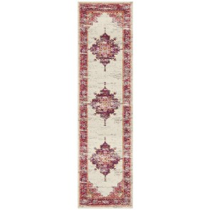 Babylon 211 Pink Runner By Rug Culture