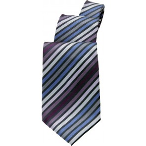 Blue/ Purple Stripe Tie