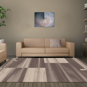 Visiona Brown Boston Collection Rug by Saray Rugs