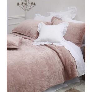 MM Linen Bows Queen Bedspread Set