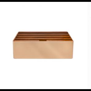 Medium Bronze & Walnut
