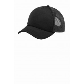 Port Authority 5-Panel Twill Foam Trucker Cap