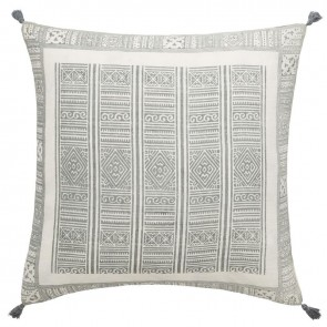 Linen and Moore Folk Cushion