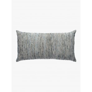 Linen and Moore Shore Rectangle Jade Cushion