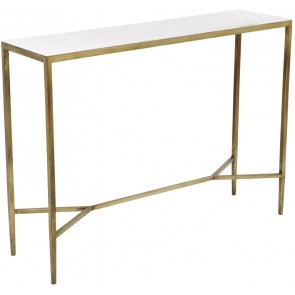 Cafe Lighting Chloe Console Table - Gold