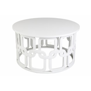 Cafe Lighting Link Coffe Table White