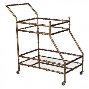 Cafe Lighting Tansu Drinks Trolley