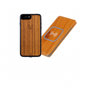 Alldock iPhone 6 Wireless Kit Teak
