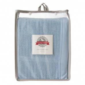 Cot Cellular Blanket by Living Textiles