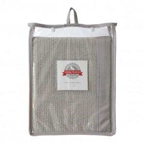 Bassinet/Cradle Cellular Blanket by Living Textiles