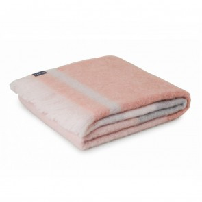 St Albans Mohair Champagne Throw Rug