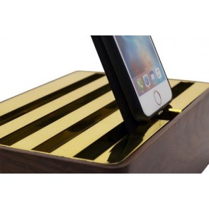 Alldock iPhone 6 Wireless Rosewood Case/Pad
