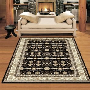 Virtue Black Charisma Rug by Saray Rugs