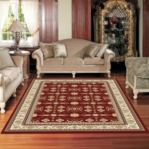 Virtue Cherry Charisma Rug by Saray Rugs