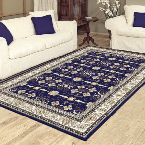 Virtue Dk Blue Charisma Rug by Saray Rugs