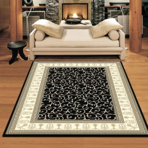 Ziegler Black Charisma Rug by Saray Rugs