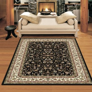 Opulence Black Charisma Rug by Saray Rugs