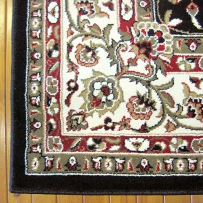 Opulence Black Charisma Rug by Saray Rugs