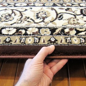 Opulence Brown Charisma Rug by Saray Rugs