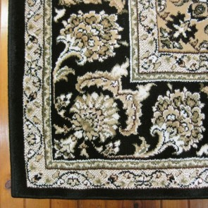 Jewel Black Charisma Rug by Saray Rugs