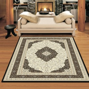 Flair Black Charisma Rug by Saray Rugs