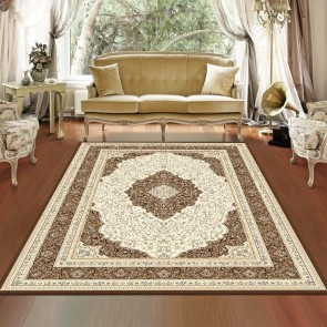 Flair Brown Charisma Rug by Saray Rugs