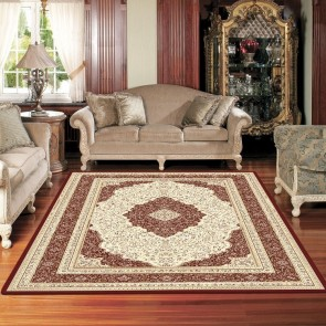 Flair Cherry Charisma Rug by Saray Rugs