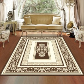 Novelty Brown Charisma Rug by Saray Rugs