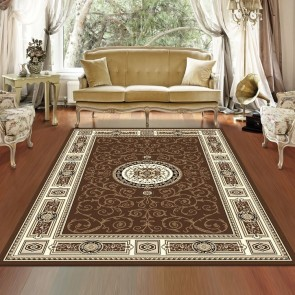 Rustic Brown Charisma Rug by Saray Rugs