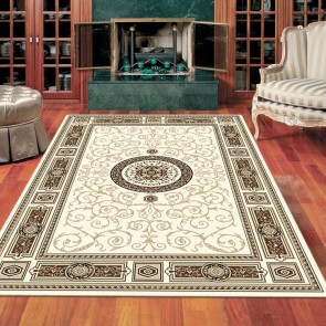 Rustic Cream Charisma Rug by Saray Rugs
