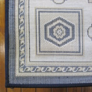 Rustic Dk Blue Charisma Rug by Saray Rugs