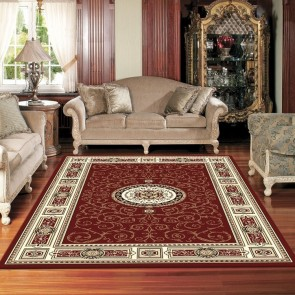 Rustic Cherry Charisma Rug by Saray Rugs