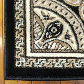 Retreat Black Charisma Rug by Saray Rugs