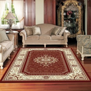 Retreat Cherry Charisma Rug by Saray Rugs