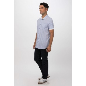Charleston Blue Shirt by Chef Works