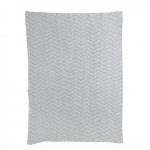 Chevron Knit Blanket by Living Textiles