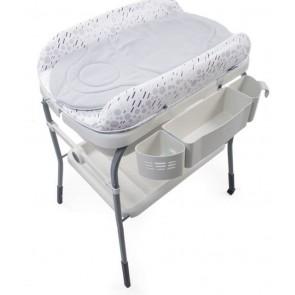 Chicco Bath Cuddle Bubble - Cool Grey