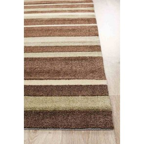 City 554 Brown By Rug Culture