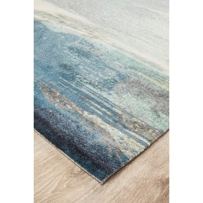 City 563 Blue By Rug Culture