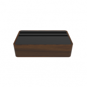 Compact Walnut & Black