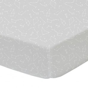 Constellations Cot Fitted Sheet by Lolli Living