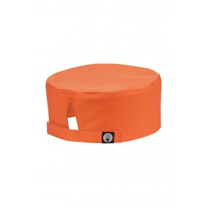 Cool Vent Orange Chef Beanie