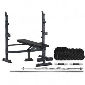Cortex MF-4000 Multi-Functional Bench 90kg Home Gym Package