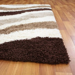 Cosmo 2628 Ivory Brown By Rug Culture