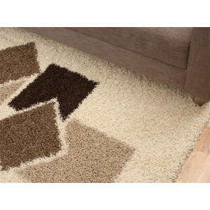 Cosmo 2638 Brown Ivory By Rug Culture