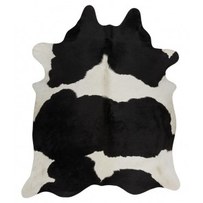 Premium Brazilian Cowhide Black By Rug Culture