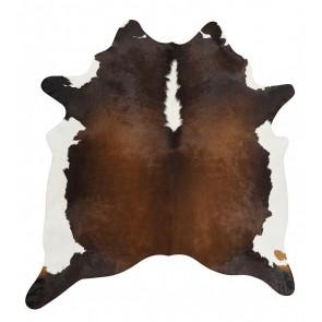 Premium Brazilian Cowhide Chocolate By Rug Culture