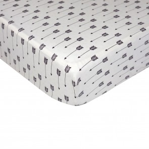 Arrow Fitted Sheet by Lolli Living
