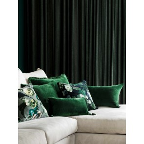 Botanica Grey Cushion by Linen and Moore