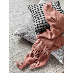Lama Throw by Linen and Moore